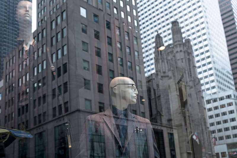Man working New York City